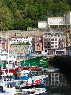 Harbor in San Sebastián, Basque Country