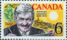 Canada 1969 Stephen Butler Leacock Fine Mint SG 646 Scott 504 Other British Commonwealth Stamps for Sale Here