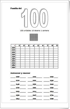 Hundreds, Tens and Ones Place Value Blocks Teaching Math, Teaching Resources, Math Sheets, Subtraction Worksheets, Tens And Ones, 2nd Grade Math, Home Learning, Math For Kids, Decimal