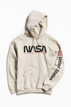 Hoodie Outfit - NASA Hoodie Sweatshirt Source by hollandcoliver Sweatshirt Outfit, Graphic Sweatshirt, T Shirt, Off White Sweatshirt, Graphic Tees, White Hoodie, Hoodie Sweatshirts, Sweatshirts Vintage, Fashion Sweatshirts