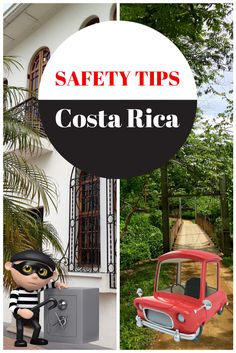 Pinterest Pin: Safety Tips in Costa Rica