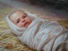 Christ child by Joseph Brickey