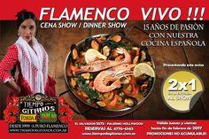 Imprimí este Flyer para acceder a la Promo 2X1 en Entradas al Show!!! Te esperamos!!! Cena Show, Dinner Show, Palermo Hollywood, Paella, Beef, Ethnic Recipes, Food, Emilio, Facebook