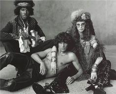 Jimi Hendrix, Jim Morrison and Matt Duffie <3