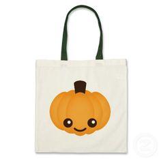 Kawaii Pumpkin Bag