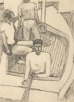 Jerzy Nowosielski - Na łodzi