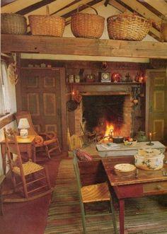 primitive homes crossword clue