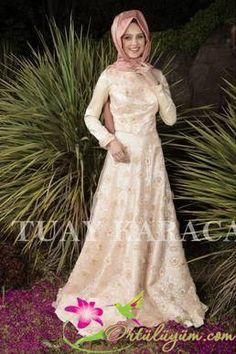 Tuay Karaca Özel Tasarım Abiye Elbise