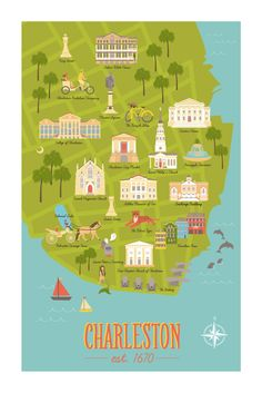 Need Lisa's new Charleston map for ze casa