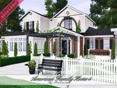 Pralinesims' American Family Home 4