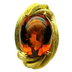 D The Collection by Henry Dunay Citrine Ring