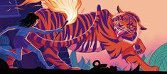 ILLUSTRATOR ROBERT HUNTER ADAPTS THE JUNGLE BOOK — FREE RANGE