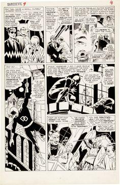 Wally Wood and Bob Powell Daredevil #9 Page 7 Original Art (Daredevil, 1965)