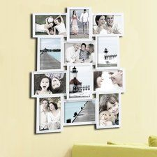 """AdecoTrading 9 Opening Decorative """"Love"""" Wall Hanging Collage Picture Frame You'll Love 