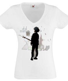 Les Cure chemise Boys Dont Cry Rock alternatif Rock gothique chemises la Cure bande Tshirt Tank Top gilet Post Punk femmes Lady V Neck T-Shirt sur Etsy, $15.83 CAD