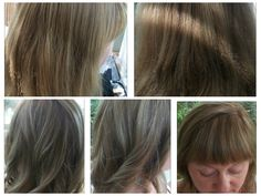 Before colouring and cutting. Foils and inbetween colour.