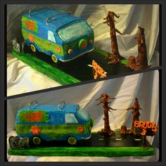 Scooby doo mystery machine birthday cake by I'll Cake That