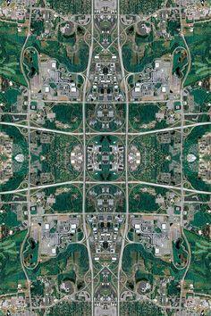 Anthropocene   Kaleidoscopes of Aerial Complexity by David Thomas Smith | inspiration