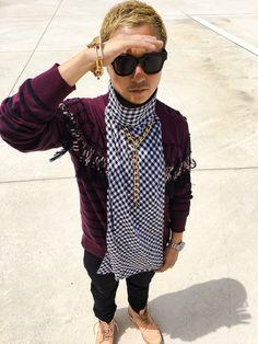 VERBAL|sacai MEN'SのKnitwearを使ったコーディネート - WEAR
