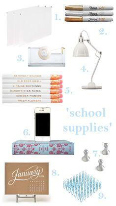'school' supplies - downtown daydreams