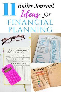 Budgeting with a Bullet Journal! #bulletjournaljunkie #money #bujo #finance
