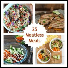 25 Meatless Meals to Start the New Year