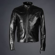 The Street Fighter leather jacket is Triple Aught Designs modern take on the timeless cafe racer style. Suit Fashion, Leather Fashion, Mens Fashion, Style Fashion, Timeless Cafe, Men's Leather Jacket, Leather Jackets, Moto Jacket, Cafe Racer Style