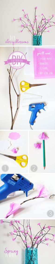 WAY COOL! origami Cherry blossom tree | crafty ... - photo#31
