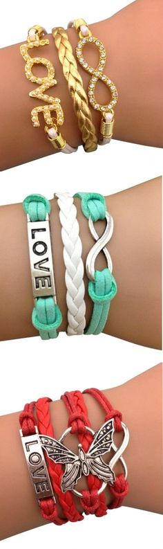 For the lag who wears her heart on her sleeve :) Gotta LOVE these cute bracelets