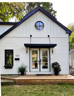 Metal Door Awning, Copper Awning, Front Door Awning, Door Overhang, Exterior House Colors, Exterior Paint, Shop Awning, House Awnings, Triangle House