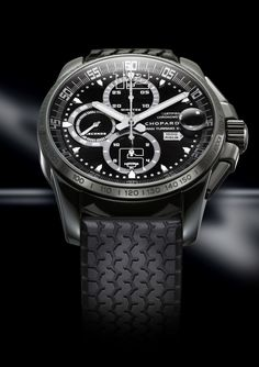 Chopard Mille Miglia GT XL Chrono Speed Black chronometer wrist watch (front view)