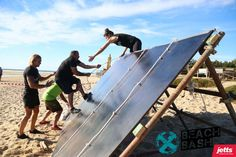 Beach Bash Fitness Equipment, No Equipment Workout, Obstacle Races, Ping Pong Table, Solar Panels, Playground, Racing, Gym, Future