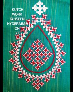Kutch Work Designs, Types Of Hands, Mirror Work, Hyderabad, Needle And Thread, Hand Embroidery, Pillow Covers, Pillows, Saree Blouse