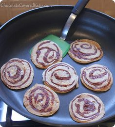 Cinnamon Pancakes - 1 Weight Watchers point each!