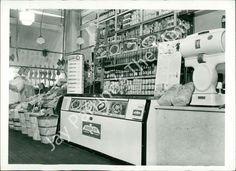vintage grocery stores | Details about ADZ-455 VINTAGE PHOTO- OLD GROCERY STORE INTERIOR