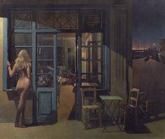 .:. Σάμιος Παύλος – Pavlos Samios [1948] Το βράδυ της 9ης Ιουλίου, 1977 Modern Art, Contemporary Art, Mediterranean Art, Greece Painting, Moving To Paris, Painting Studio, 10 Picture, Greek Art, Drawing Lessons