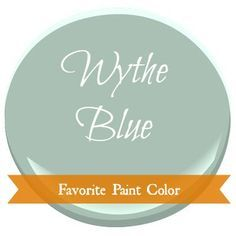 Postcards from the Ridge: Favorite Paint Color ~ Benjamin Moore Wythe Blue (welcome decor paint colors) Blue Green Paints, Green Paint Colors, Paint Color Schemes, Interior Paint Colors, Paint Colors For Home, Wall Colors, House Colors, Bedroom Colours, Blue Bedroom