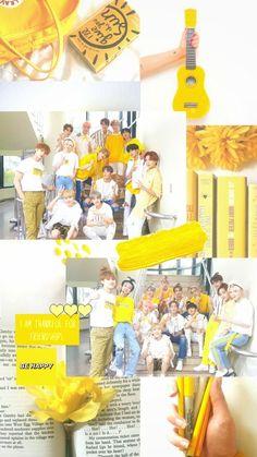 Woozi, Mingyu, Warner Music, Seventeen Wallpapers, Eric Nam, Wattpad, Fandom, Mellow Yellow, Aesthetic Pictures