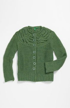 United Colors of Benetton Kids Knit Sweater (Little Girls & Big Girls) available at #Nordstrom