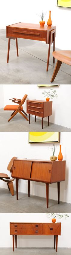 Love the mid-century coming back. The simplest accents can really become extraordinary.