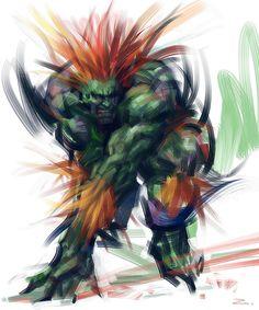 Blanka - Street Fighter -  zhuzhu.deviantart.com