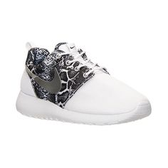 Women's Nike Roshe One Print Casual Shoes ($80) ❤ liked on Polyvore featuring shoes, sneakers, synthetic shoes, low shoes, nike sneakers, light weight shoes and jogging shoes