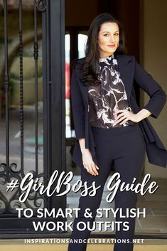 To inspire you to dress for success, today's style guide shows how to wear smart and stylish work outfits. Learn chic, modern ways to style work outfits. Stylish Work Outfits, Cool Outfits, Womens Fashion For Work, Work Fashion, Trendy Fashion, Fashion Ideas, Fashion Inspiration, Fashion Outfits, Office Attire Women
