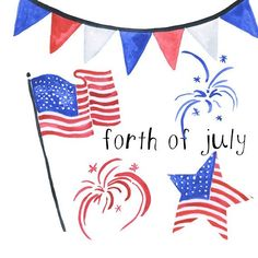 Watercolor forth of July Americana clip art american clipart of July Illustrations Patriotic American Clip Art Cliart murica clipart Happy4th Of July, Funny 4th Of July, Happy Fourth Of July, July 4th, Blue Fireworks, 4th Of July Fireworks, Fireworks Images, Animated Clipart, Art Clipart