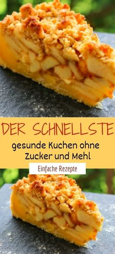 The fastest healthy cake without sugar and flour-Der schnellste gesunde Kuchen ohne Zucker und Mehl Ingredients 100 g tender oatmeal 100 g walnuts, … - Health Snacks, Health Desserts, Low Carb Desserts, Healthy Cake, Healthy Recipes, Healthy Sugar, Eat Healthy, Cakes Originales, Law Carb