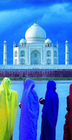 Taj Mahal, India                                                       …                                                                                                                                                                                 Más Largest Countries, Countries Of The World, Om Namah Shivaya, Life Is Beautiful, Beautiful Places, Le Taj Mahal, Monuments, India Travel, India Trip