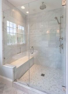 If you are looking for Master Bathroom Remodel Ideas, You come to the right place. Here are the Master Bathroom Remodel Ideas. This article about Master Bathroom Remodel Ideas was posted under the bat. Built In Shower Seat, Shower With Bench, Shower With A Window, Shower Benches, Built In Bath, Master Bathroom Shower, Shower Walls, Bathroom Showers, Master Bathrooms