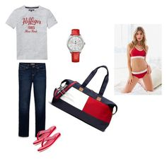 """""""all hilfiger"""" by biancabresto on Polyvore featuring Tommy Hilfiger"""