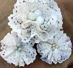 Fabric Flower Frenzy  http://www.mitzismiscellany.com/2013/09/fabric-flower-frenzy.html