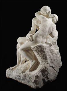 My favorite piece of sculpture- Auguste Rodin - The Kiss. Auguste Rodin, Musée Rodin, Camille Claudel, Museu Rodin Paris, Angel Martin, Antoine Bourdelle, Kiss Art, Plastic Art, Art Themes